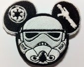 Stormtrooper Star Wars Inspired Mouse Ears Patch