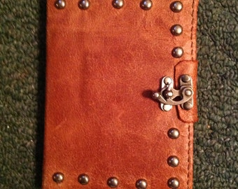 Leather Steampunk Refillable Journal