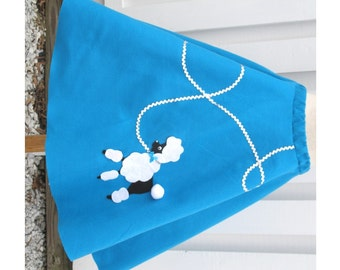 Woman's Plus-Size Poodle Skirt Hand-Made Per Order Choose 2X, 3X, or 4X