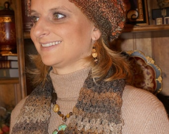 Slouchy Bobbled Hat
