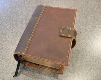 """Leather LDS Scripture Case - """"The Quad"""""""