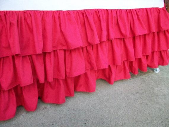 Hot Pink Crib Skirt 45