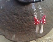 Pointed Toadstool Earrings - CharmsofWonderland