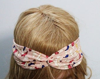 Little Birds Pink Headband