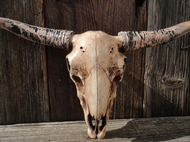 Longhorn Steer Faux Long Horn Faux Taxidermy Texas