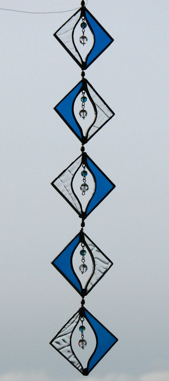 Stained Glass Suncatcher Spinner Patio By Baycreationsbywendy