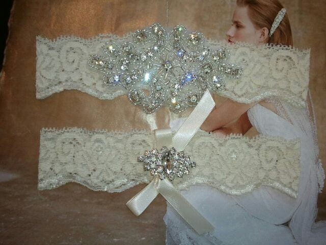 SALE Shop Best Seller Wedding Garter Set By LucyBridalBoutique
