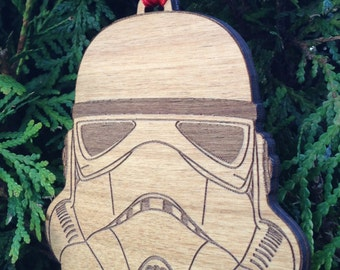 Star Wars Stormtrooper Wooden Ornament
