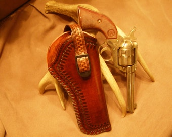 Leather  Holster for Medium Frame Revolvers