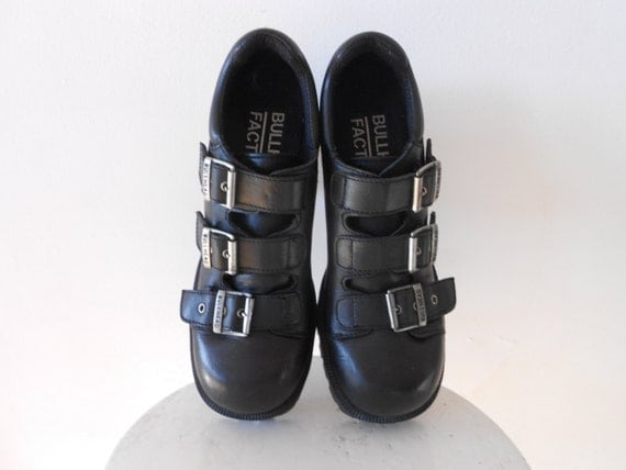90s black shoes- Reserved listing for Heike