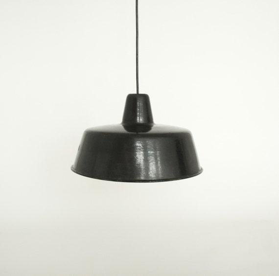 Black Industrial Pendant Lamp Shade