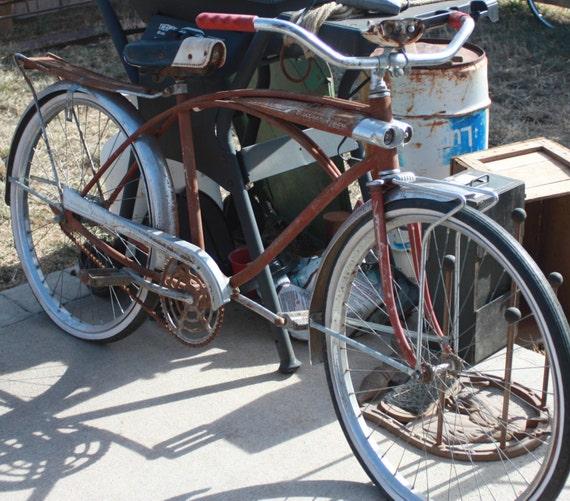 Vintage All Original 1950s Western Flyer Bicycle