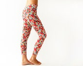 Leggings - Happy Spring Colorful  Women August Leggings - MikiBeFashion