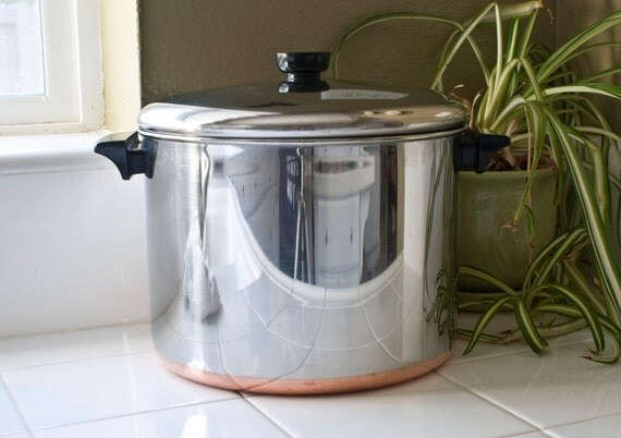 Revere Ware Stainless Steel 10 Quart Large Stock By