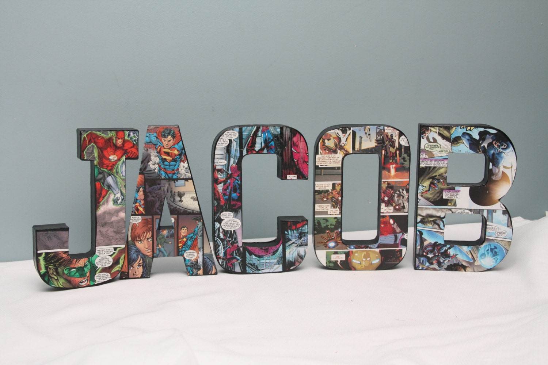giant paper mache letters