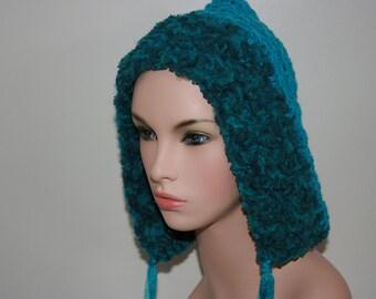 No: 15 Freeform crochet hat, wearable art, OOAK