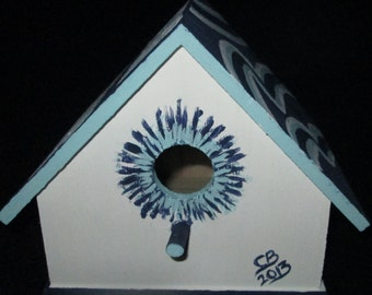 Detroit Lions Birdhouse with Shazaam