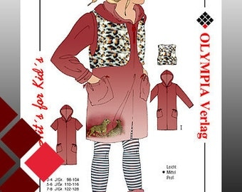 Patterns, 0817, vest and jacket (1115)