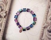 The Mini Aurora Bracelet - Swarovski crystal bracelet