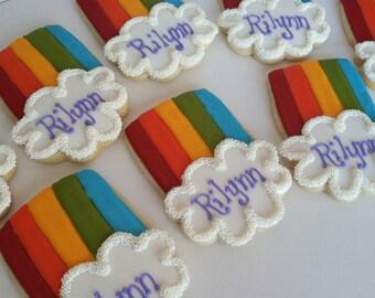 Rainbow Party Favor Cookies