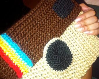Crochet Instagram iPad cover