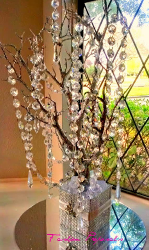 Quinceanera centerpieces trees