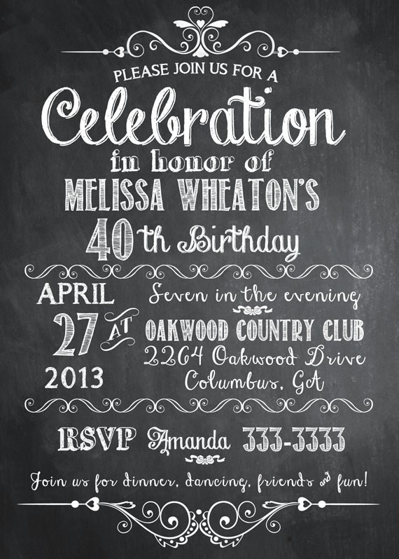 Surprise 50Th Party Invitations as best invitations design