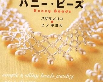 Honey Beads Beaded Jewelry pattern necklace earrings chocker bracelet PDF Chinese book