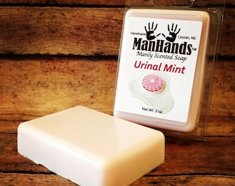 Urinal Mint Scented Soap 3 oz. Bar
