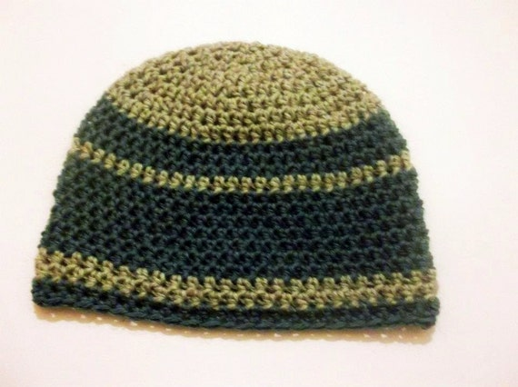 Mens Hat CROCHET PATTERN, Beanie and Earflap, 7 sizes - Newborn to ...