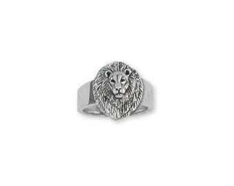 Solid Sterling Silver Lion Ring - LION6R