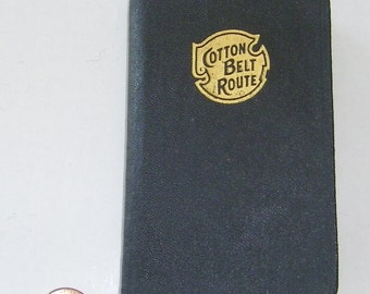 REDUCED 1942 St. Louis Southwest Railway Cotton Belt Route and Personal Diary