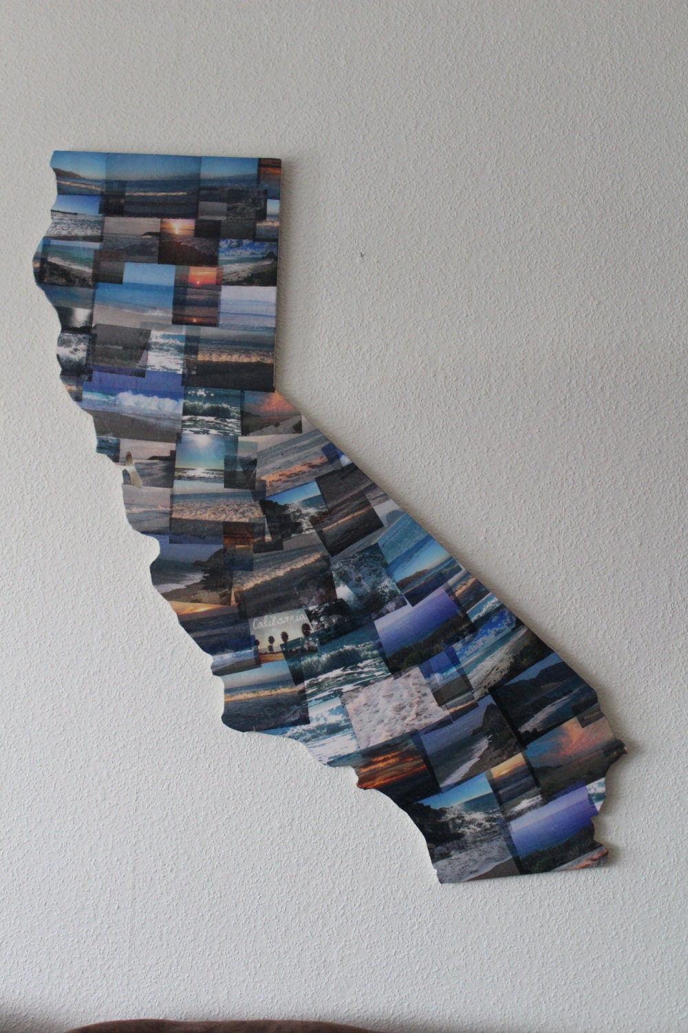 California state wall hanging or state of your by TheLettery