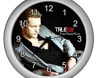 True Blood Personalized Room Wall Clock