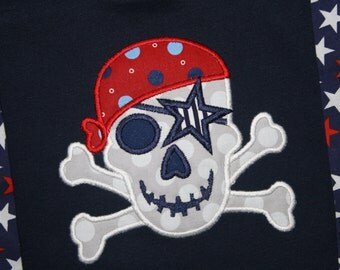 4th of July Skull