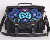 Large Boho Satchel - Men Satchel - Men Messenger Bag -  Back to School