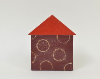 Wax House 4 -  encaustic painting