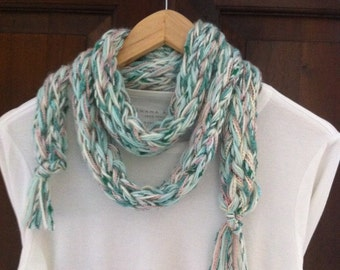 Hand made  mix colors   scarf