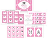 PRINTABLE Princess Party Collection - Basic