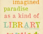 Library Paradise Print