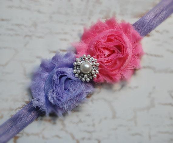 https://www.etsy.com/listing/162383595/purple-pink-baby-headband-vintage