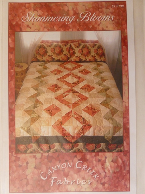 Queen or King size quilt pattern Easy Quilt pattern large