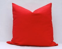 popular items for red pillow on etsy