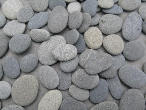 Flat Rock Stone : Stones quot to smooth flat beach rocks