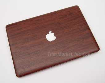 For Apple Macbook Pro 13  A1278  New Style Wood Primavera Top Cover Protector Skin Decal 3pcs