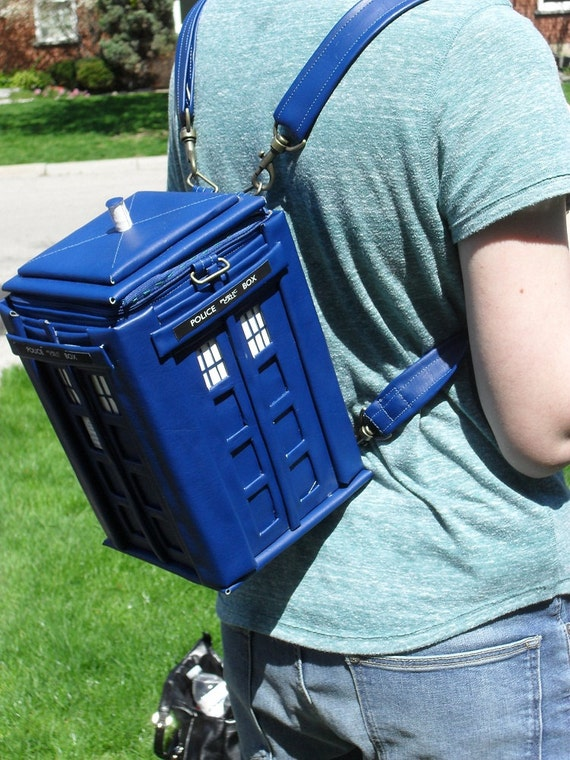 Tardis Backpack Doctor Who
