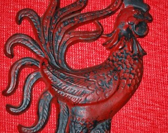 Vintage Wrought Iron Rooster