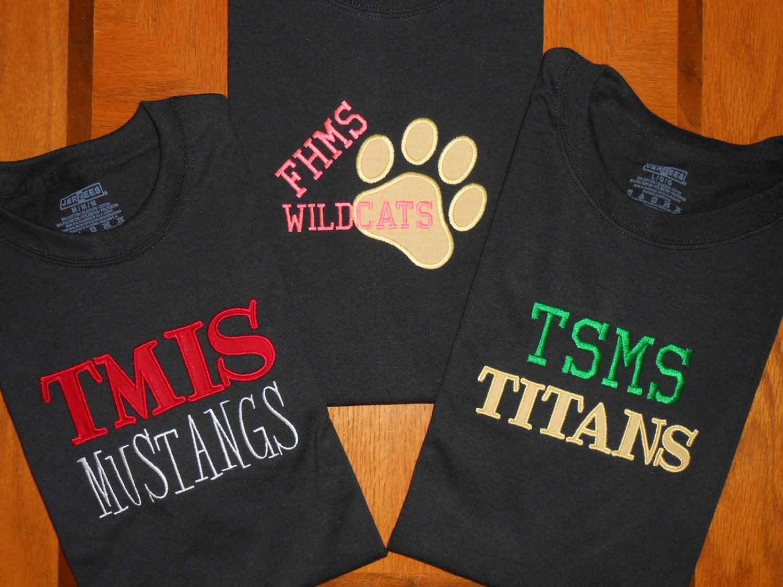 Custom Team Spirit T Shirt School Spirit T Shirt Sports