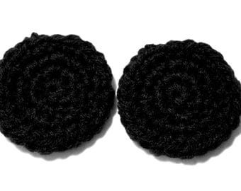 Order for FiveHouse - Black Custom Lobe Warmers (Plug Mittens) for Stretched Ears.