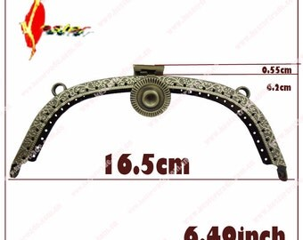 3pcs  3 design   6/1/2 inch  wedding clutch purse frame ks-pf-bzy-20 KS-31